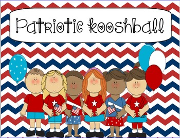Patriotic/ American/ Military themed Kooshball Game for SM