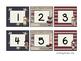Patriotic Calendar Number Cards