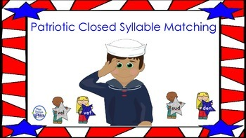 Patriotic Closed Syllable Match