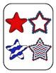 Matching Patriotic Stars File Folder Game