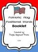 Patriotic Flag Positional Words Booklet