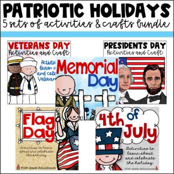 Patriotic Holidays Activities Bundle