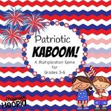 Patriotic Kaboom: A Multiplication Game