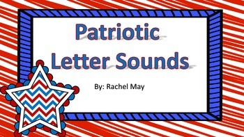 Patriotic Letter Sound Match