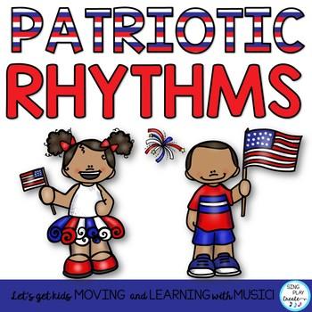 Patriotic Music Class Rhythm Activities: Notation, Body Pe