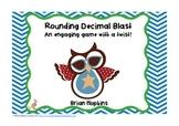 Patriotic Owl Themed Rounding Decimal Blast