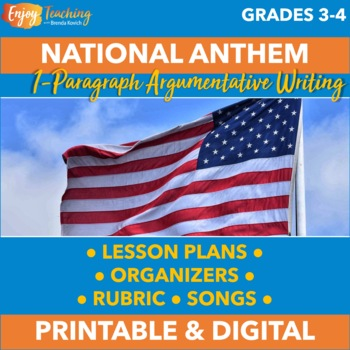 Persuasive Writing - Which Patriotic Song Is the Best Nati