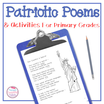 Patriotic Poems and Activities for Primary Grades