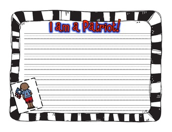 Patriot Day Writing (9-11)