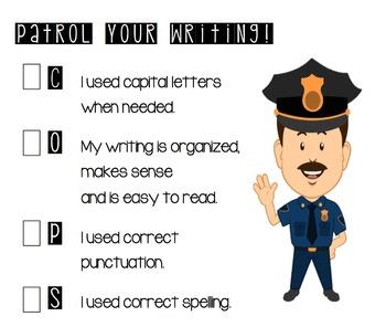 Patrol Your Writing Checklist