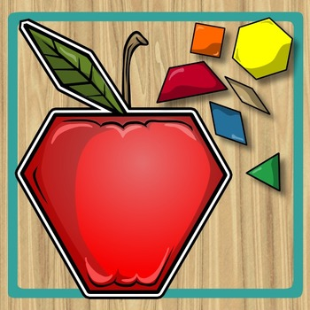 Pattern Block Puzzle - APPLES!