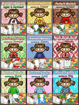 Pattern Block Puzzles The Complete Set