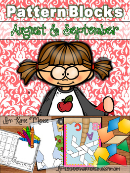 Pattern Block Puzzles for August and September