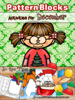 Pattern Block Puzzles for December