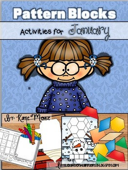 Pattern Block Puzzles for January