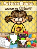 Pattern Block Puzzles for October