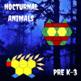Pattern Blocks Nocturnal Animals Puzzles