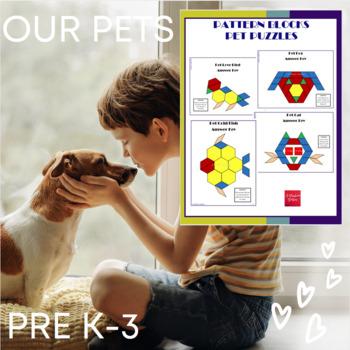 Pattern Blocks Pet Puzzles
