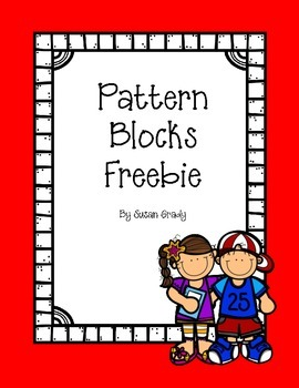 Pattern Blocks Recording Worksheets