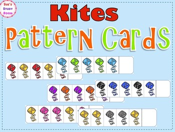 Pattern Cards: Kites