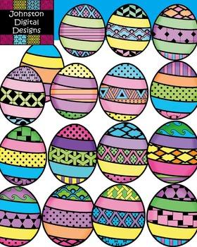 Pattern Easter Eggs