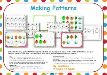 Pattern Making Activity