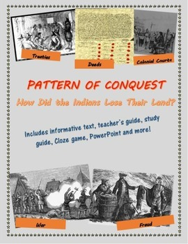 Pattern of Conquest: How the Indians Lost Their Land mini-