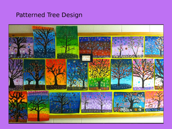 Patterned Tree Design Art Primary