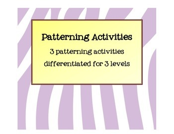 Patterning Center Cards