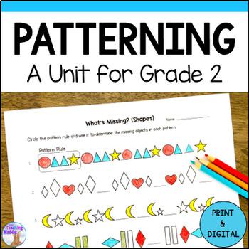 Patterning Unit for Grade 2 (Ontario Curriculum)