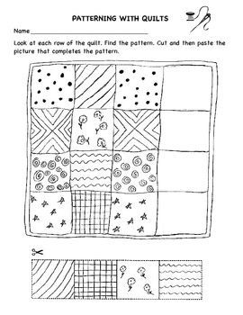 Patterning With Quilts worksheet