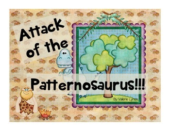 Patternosaurus- Repeating and Growing Patterns Game Activity