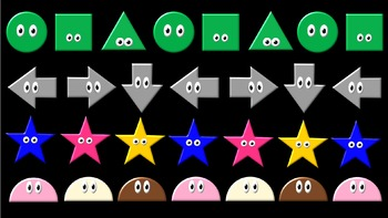 Patterns 2 - ABC Patterns with Shapes and Colors