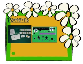 Patterns 2nd Version Math Center, Classroom Game- Digital