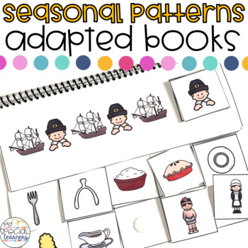 Patterns Adapted Books Bundle for the YEAR!