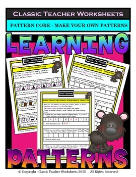 Create Your Own Patterns - Determine the Pattern Core-Grad