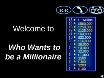 Patterns Millionaire game