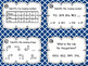 Numerical Patterns Task Cards and Poster Set