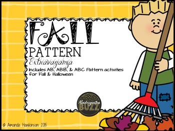 Patterns Pack:  Fall & Halloween Themed