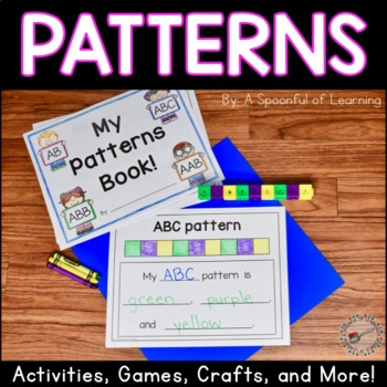 Patterns Pack! Recognize, Continue, and Create Patterns Ac