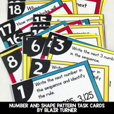 Patterns Task Cards: 4th Grade Math Centers 4.OA.5