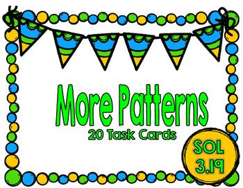 Patterns Task Cards-SOL 3.19-Set 2