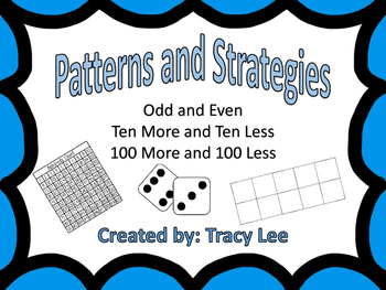 Guided Math Patterns and Strategies/ Odd and Even and More