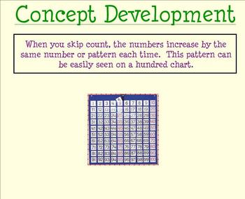 Patterns in Skip Counting Full Unit (Smartboards, quiz, an