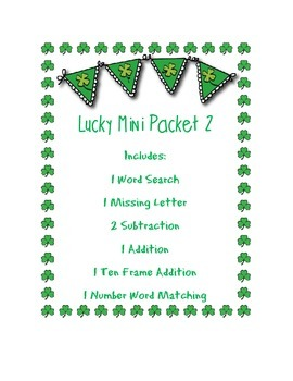 Patty's Day: Lucky Mini Packet 2