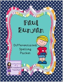 Paul Bunyan Differentiated Spelling (Scott Foresman Readin