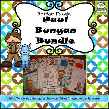 Paul Bunyan Folktale Bundle