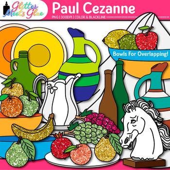 Paul Cezanne Clip Art {Still-Life Shapes for Art History a