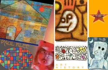 Paul Klee ~ Art History ~ FREE POSTER ~ Expression Bauhaus
