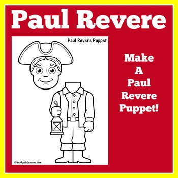 Paul Revere Activity | Paul Revere Craft | American History Craft